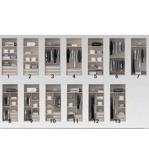 Встроенные шкафы (без боковин)