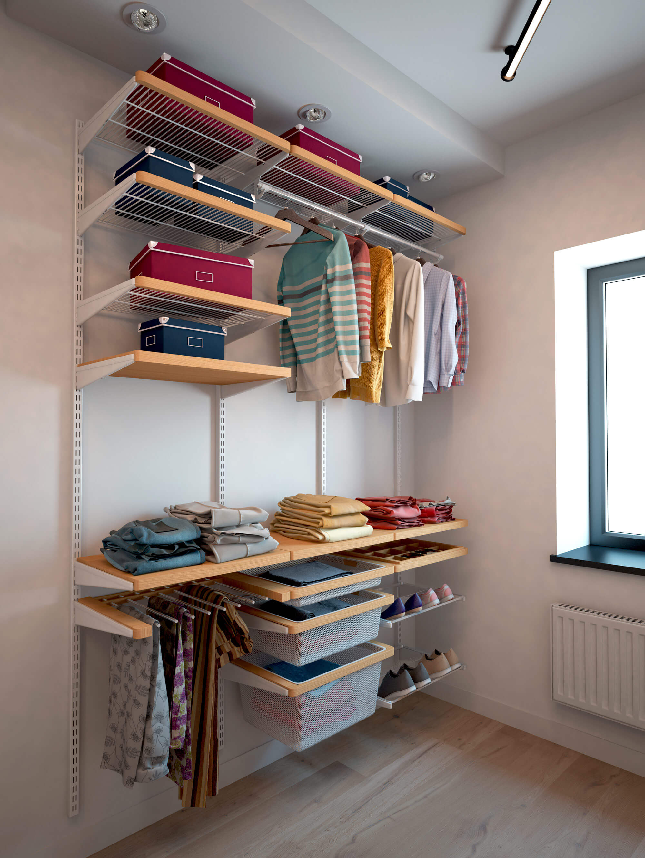 Готовые гардеробные системы - купить недорого в санкт-петерб.