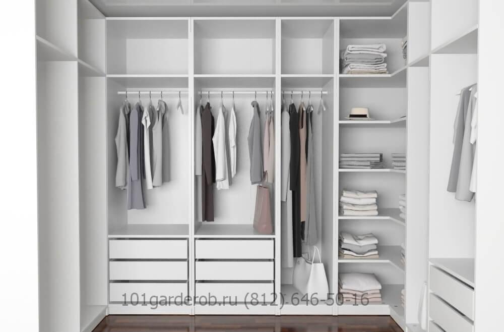Фото гардеробная комната сделана на заказ г.Санкт-Петербург 101garderob.ru